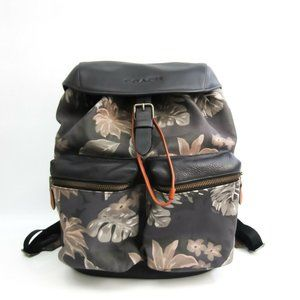 Authentic Coach Hawaiian Palm Pattern Backpack